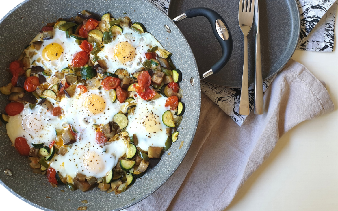 Ratatouille with Eggs
