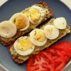 Crackers and hard boiled eggs